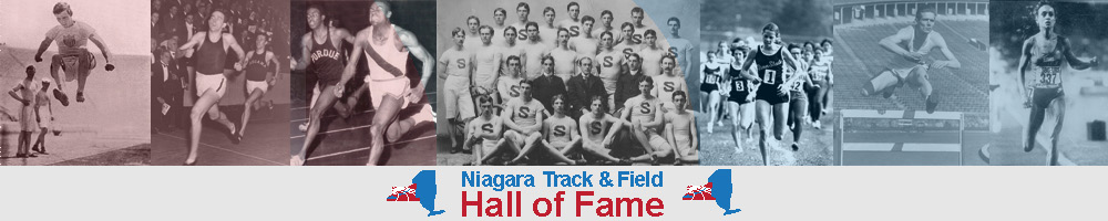 Niagara Track & Field Hall of Fame Banner